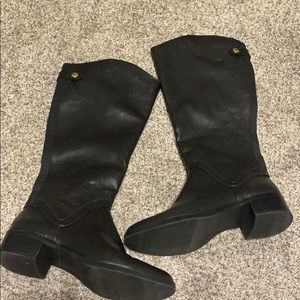 Never worn black riding boots